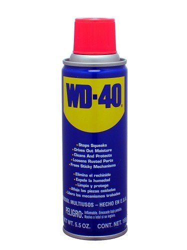 WD40  שמן שיחרור  חלודה