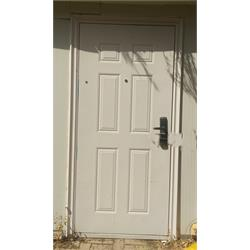 דלת פלדה  חדשה