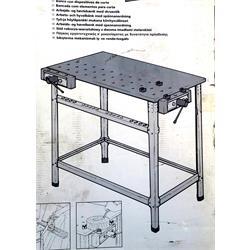 שולחן עבודה  להרכבת מלחציים