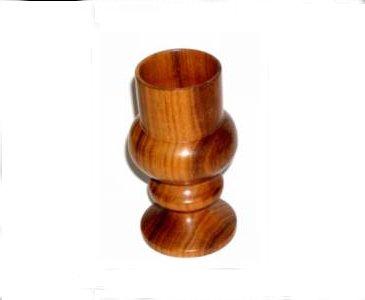 """גביע מעץ אמבויה 150 מ""""מ (לתצוגה בלבד) לא למכירה"""