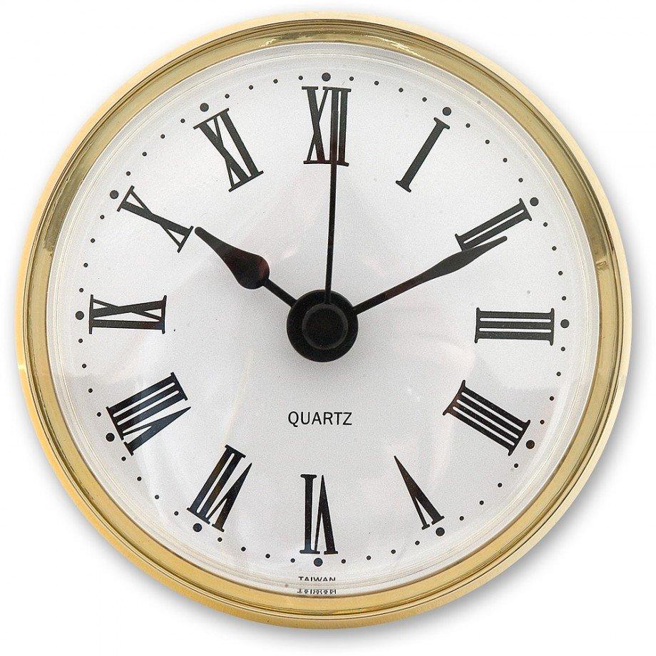"""שעון  קוורץ בקוטר 100 מ""""מ"""