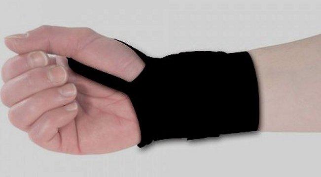 תמיכה למפרק היד